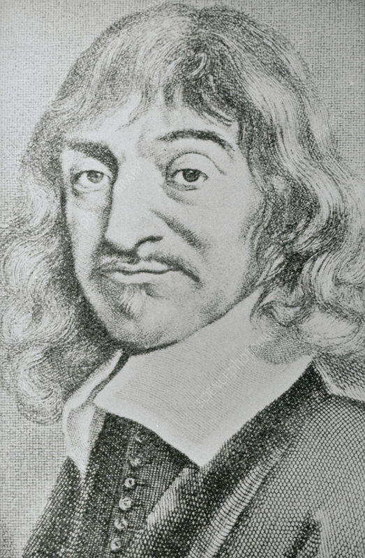 Portrait of Rene Descartes, 1596-1650