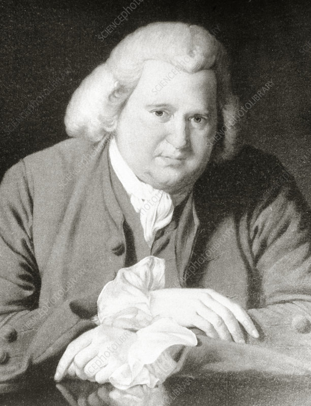 Erasmus Darwin, English biologist and engineer