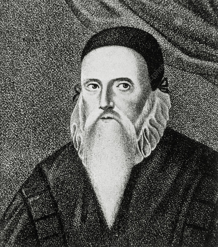 John Dee, English mathematician and alchemist