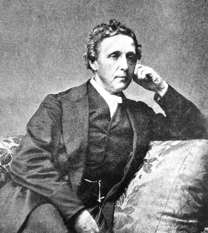 Charles Dodgson or Lewis Carroll, UK mathematician