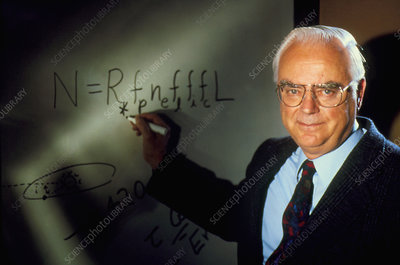 Frank Drake and his famous equation
