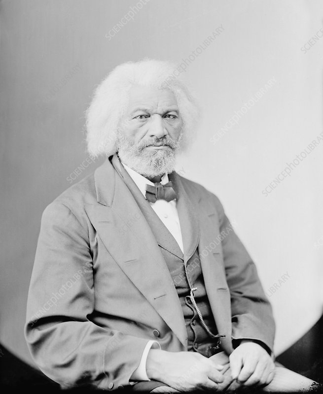 Frederick Douglass, US abolitionist
