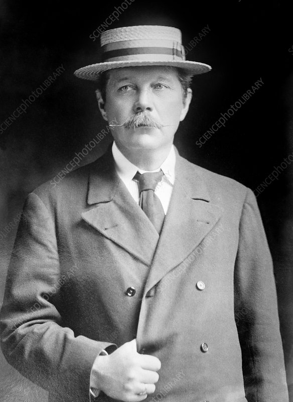 Sir Arthur Conan Doyle, Scottish author