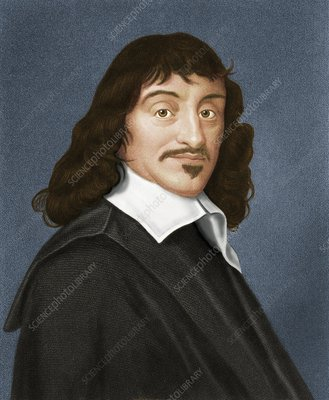 Rene Descartes, French philosopher
