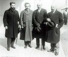 World Zionist Delegates in 1921 (incl. Einstein)