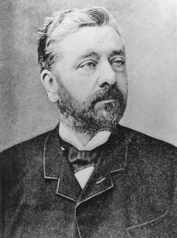 Caption: Alexandre Gustave Eiffel (1832-1923), French engineer. Eiffel was