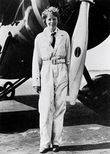 Amelia Earhart, American aviation pioneer