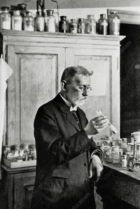 Paul Erhlich, German immunologist