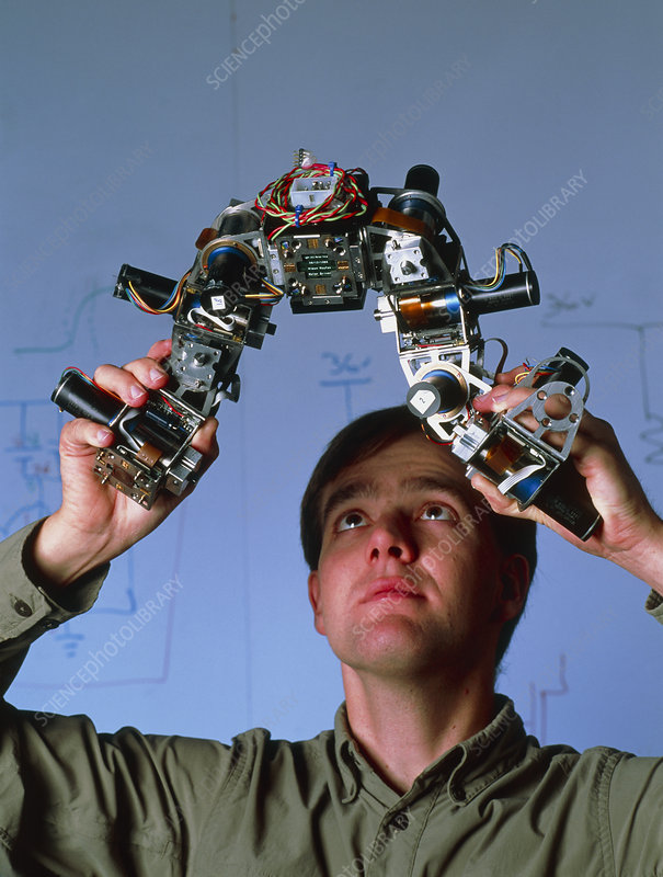 Craig Eldershaw, robotics researcher