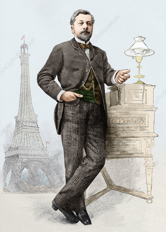 The man behind the eiffel tower was alexandre gustave eiffel