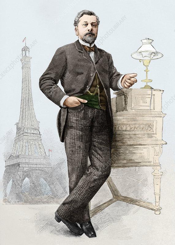 The man behind the eiffel tower was alexandre gustave eiffel
