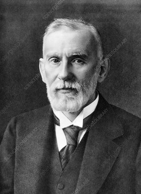 Paul Ehrlich, German immunologist