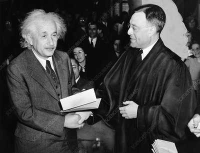 Albert Einstein, physicist