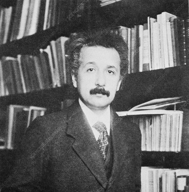 Albert Einstein, German-US physicist