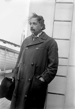 Albert Einstein, German physicist