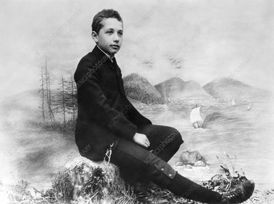Young Albert Einstein, physicist