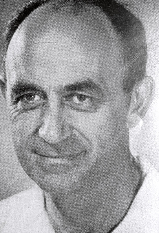 Portrait of Enrico Fermi