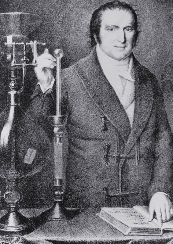 Portrait of the French chemist A. F. de Fourcroy