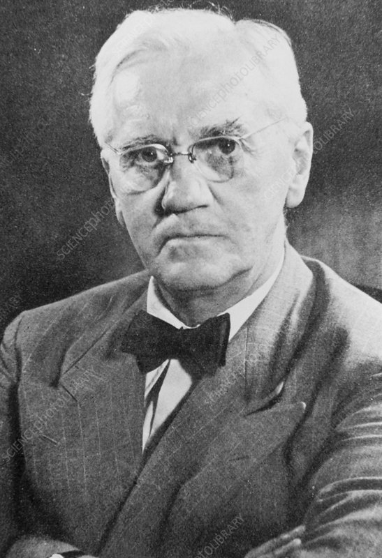 Portrait of Sir Alexander Fleming