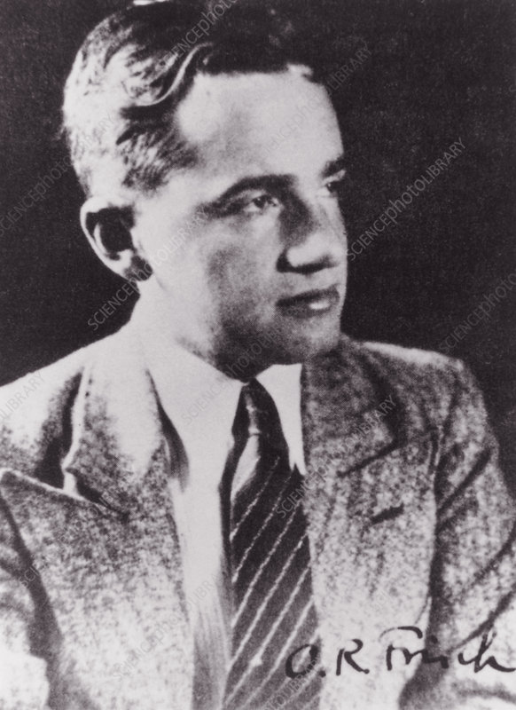 Portrait of Otto Frisch, physicist