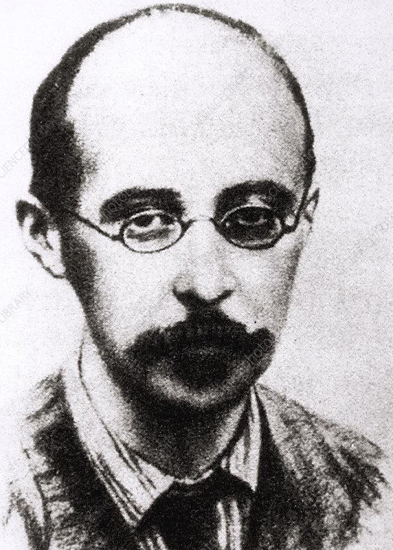 Portrait of Russian cosmologist Alexandr Friedmann
