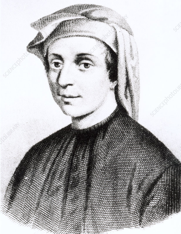Mathematician Leonardo Fibonacci
