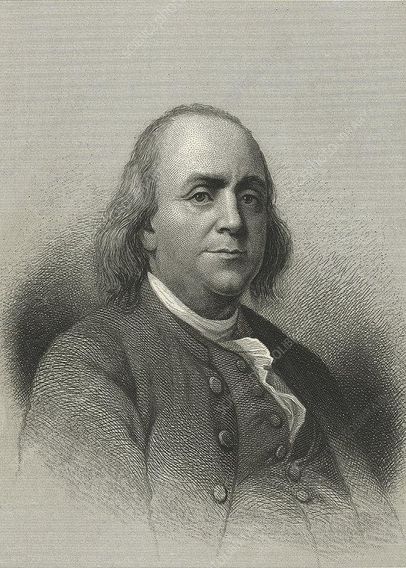 Benjamin Franklin, US scientist