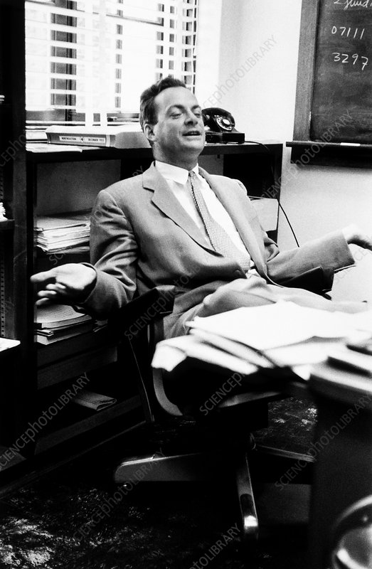 Richard Feynman, US physicist