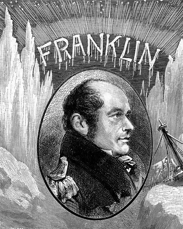 Sir John Franklin, British explorer