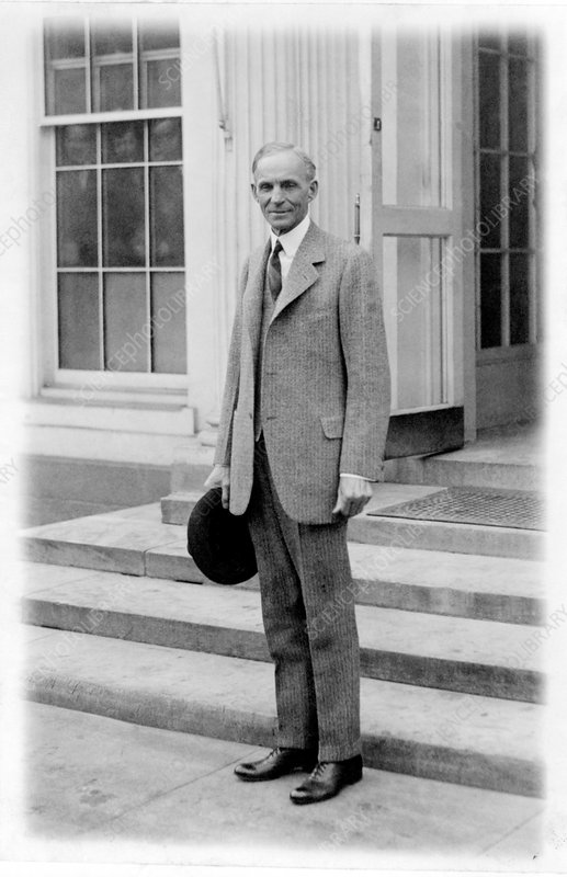 Henry Ford, US car manufacturer