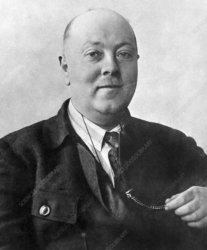 Alexander Fersman, Soviet geochemist