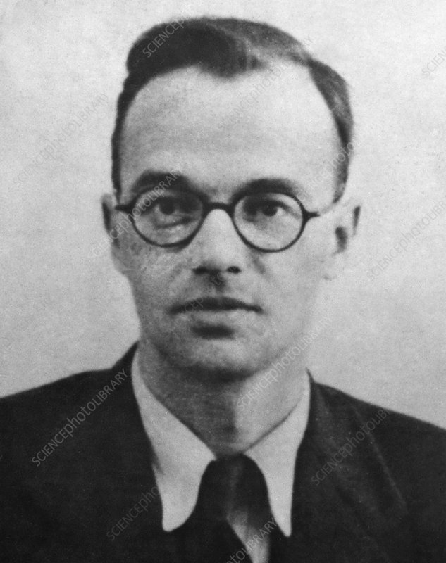 Klaus Fuchs, German nuclear physicist
