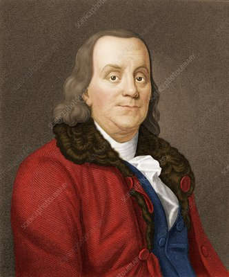 Benjamin Franklin, American scientist