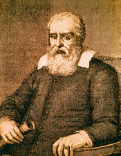 Engraving of Galileo Galilei