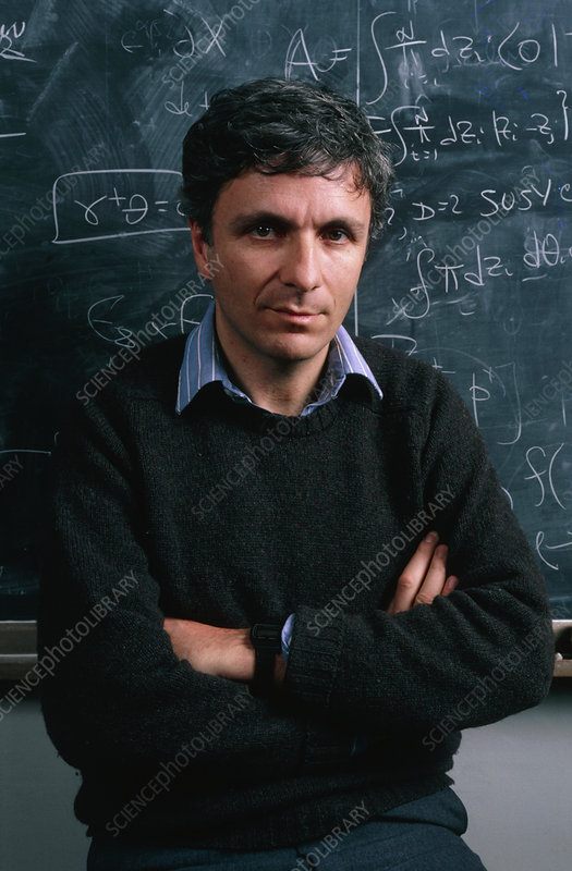 Prof. Michael Green, English theoretical physicist