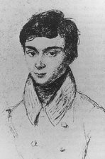 Portrait of Evariste Galois, 1811-1832