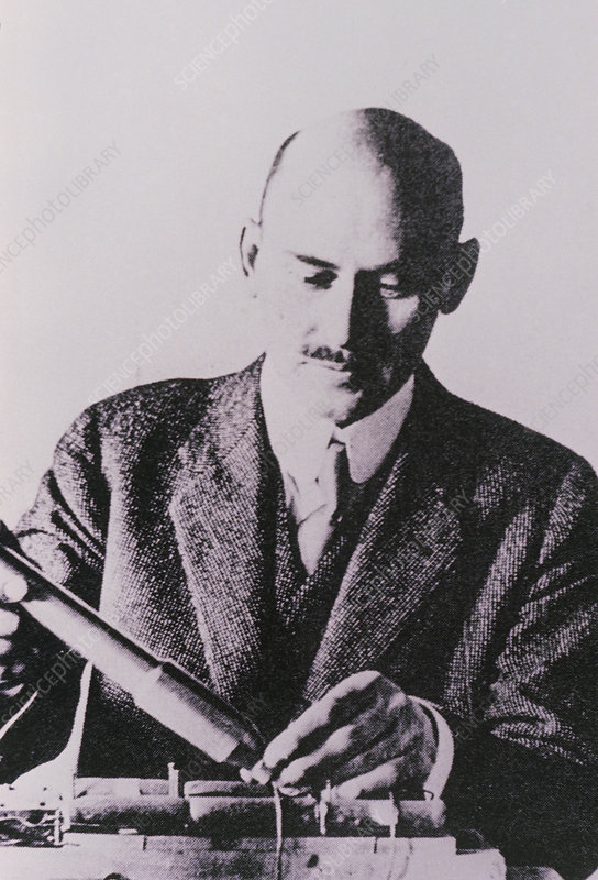 Portrait of Robert Goddard, aged 33