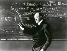 American physicist Robert Goddard