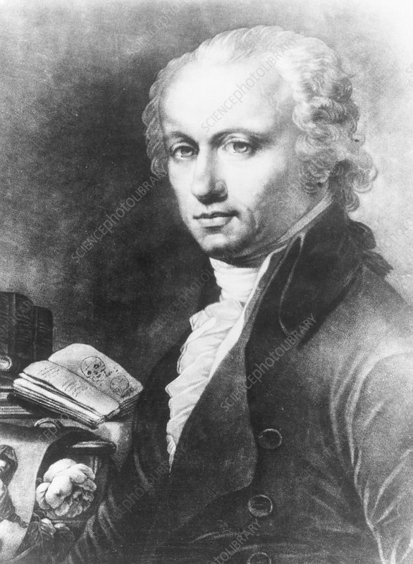 The German physician Franz Joseph Gall