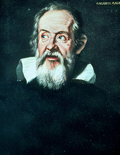 Portrait of Galileo Galilei, 1564-1642
