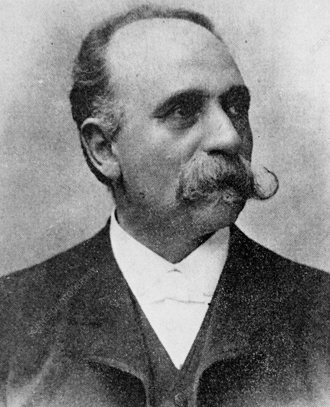 Portrait of Camillo Golgi, Italian histologist