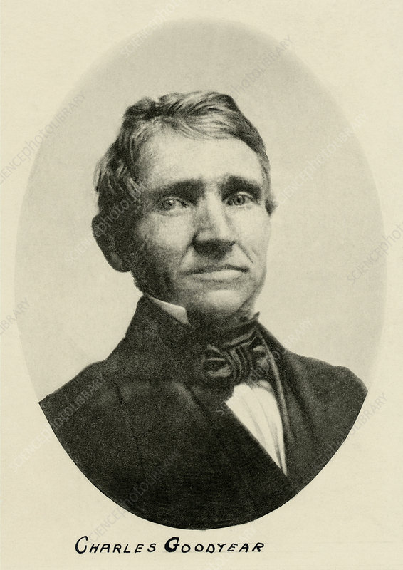 Charles Goodyear, American inventor