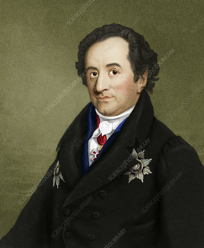 Johann von Goethe, German author