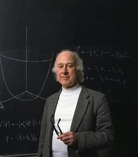 British physicist Prof. Peter Higgs