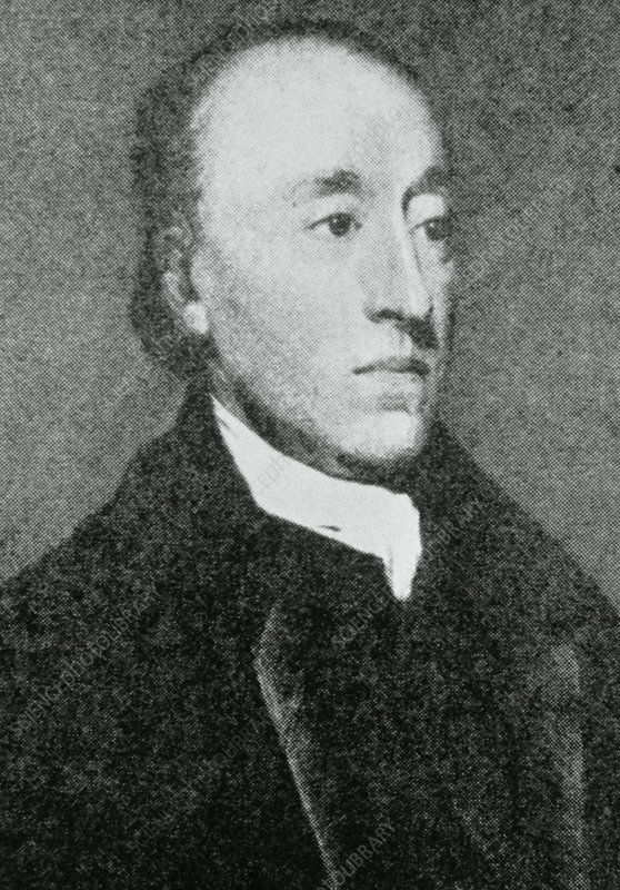 Portrait of the British geologist James Hutton.