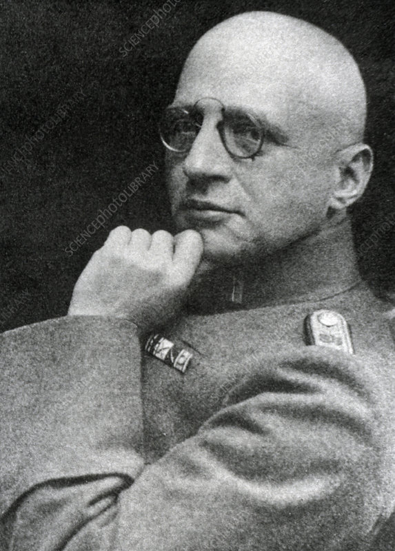 Portrait of Fritz Haber, 1868-1934