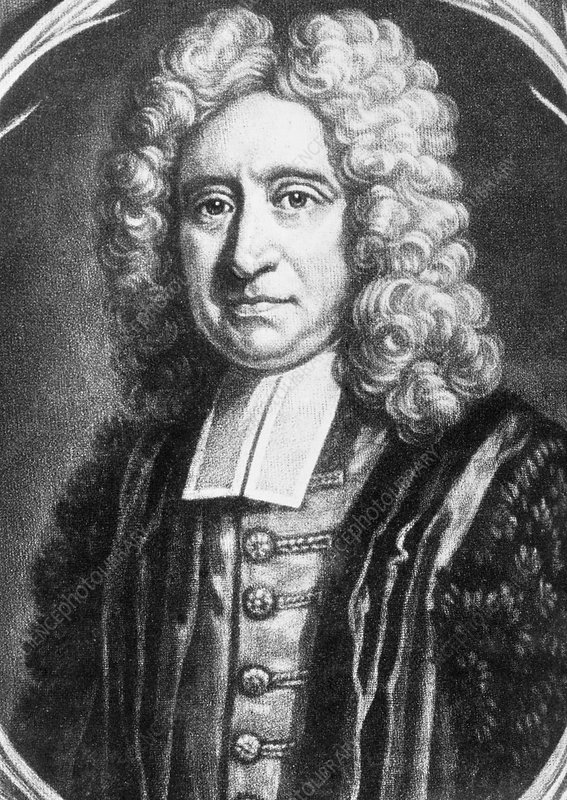 The English astronomer and physicist Edmond Halley