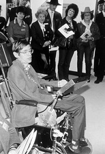 Stephen Hawking, British physicist