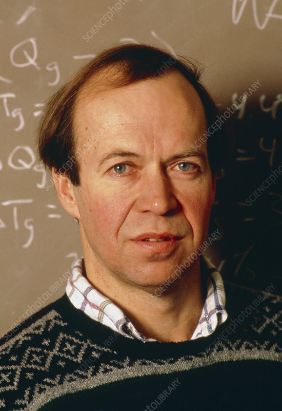 Portrait of Dr James Hansen, NASA GISS
