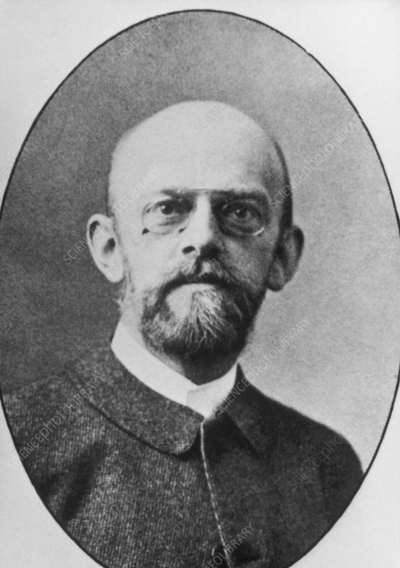 Portrait of David Hilbert